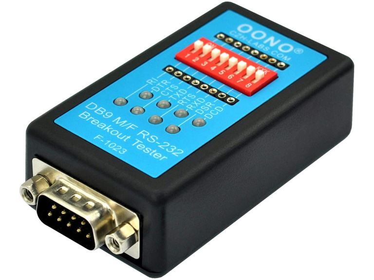 Oono RS232 Check Tester