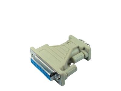 RS232 Serieller Adapter 9/25pin - 1 x Buchse / 1 x Stecker (f/m)